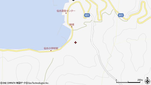 大分県津久見市四浦1575周辺の地図