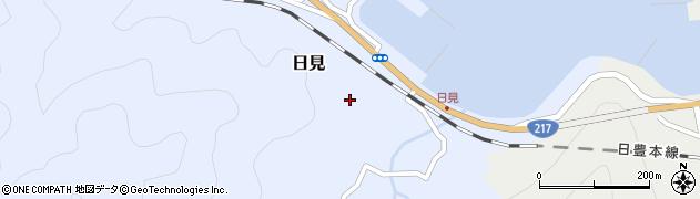 大分県津久見市日見1475周辺の地図