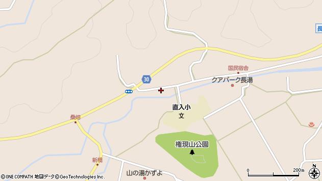 大分県竹田市直入町大字長湯3242周辺の地図