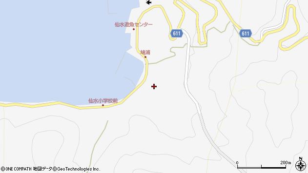 大分県津久見市四浦1902周辺の地図