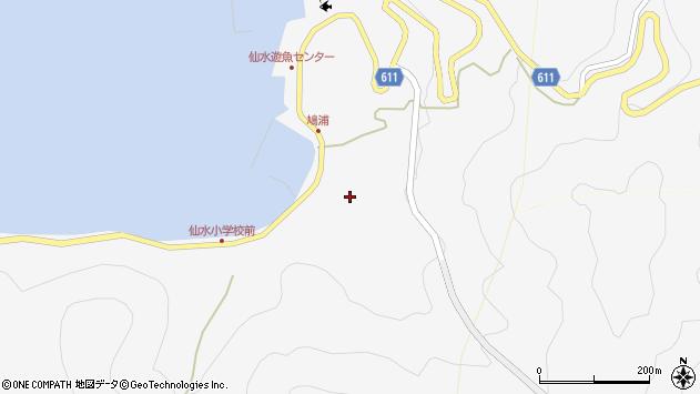 大分県津久見市四浦1604周辺の地図