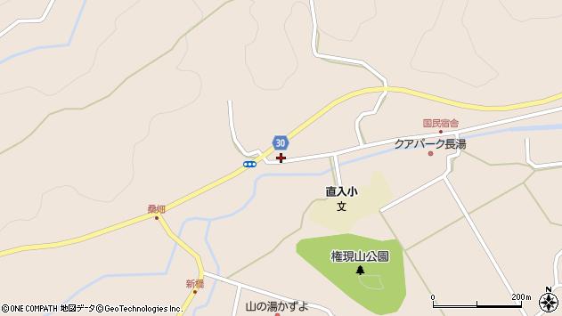 大分県竹田市直入町大字長湯2334周辺の地図