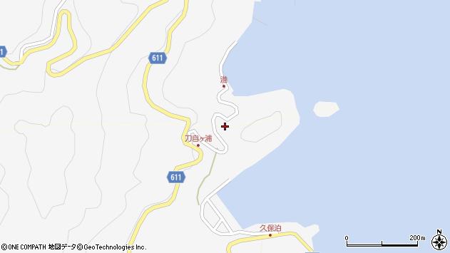 大分県津久見市四浦2507周辺の地図
