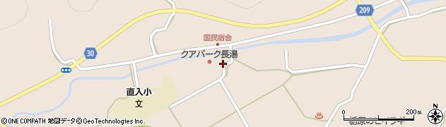 大分県竹田市直入町大字長湯3045周辺の地図