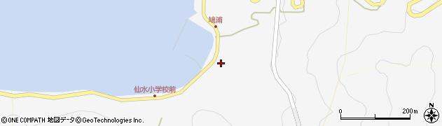 大分県津久見市四浦1550周辺の地図