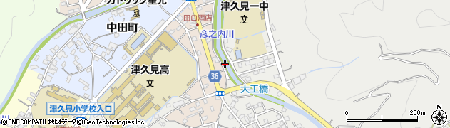 大分県津久見市文京町1周辺の地図