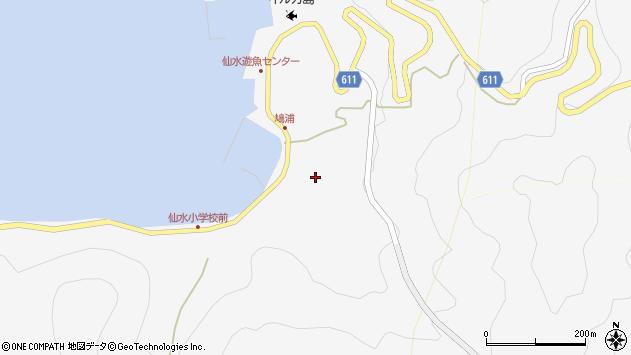 大分県津久見市四浦1623周辺の地図