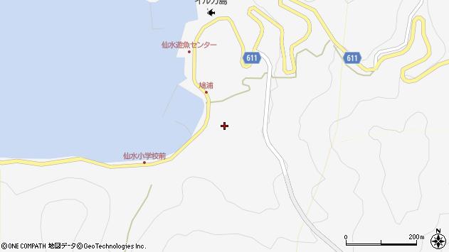 大分県津久見市四浦1624周辺の地図