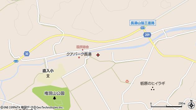 大分県竹田市直入町大字長湯3036周辺の地図