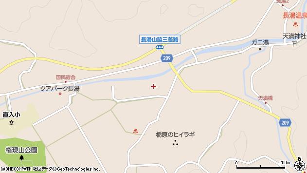 大分県竹田市直入町大字長湯3024周辺の地図