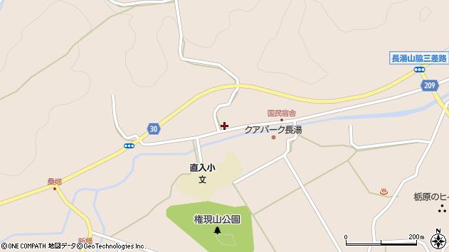 大分県竹田市直入町大字長湯3122周辺の地図