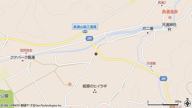 大分県竹田市直入町大字長湯2968周辺の地図