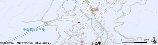 大分県津久見市千怒7029周辺の地図