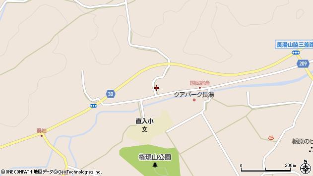 大分県竹田市直入町大字長湯3123周辺の地図