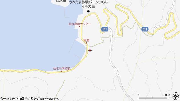 大分県津久見市四浦1561周辺の地図