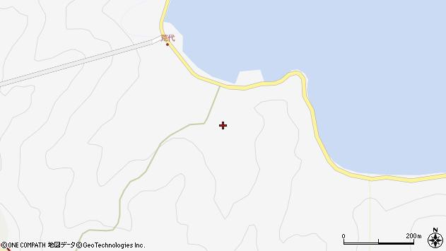 大分県津久見市四浦927周辺の地図