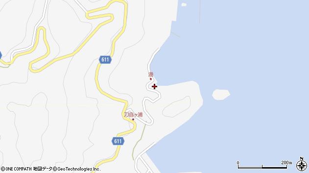 大分県津久見市四浦2498周辺の地図