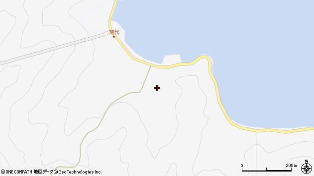 大分県津久見市四浦939周辺の地図