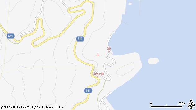 大分県津久見市四浦2487周辺の地図