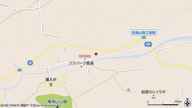 大分県竹田市直入町大字長湯3135周辺の地図