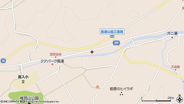 大分県竹田市直入町大字長湯7649周辺の地図