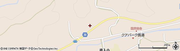 大分県竹田市直入町大字長湯桑畑周辺の地図
