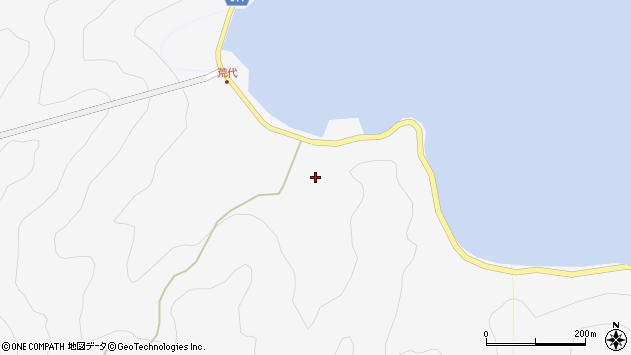大分県津久見市四浦938周辺の地図