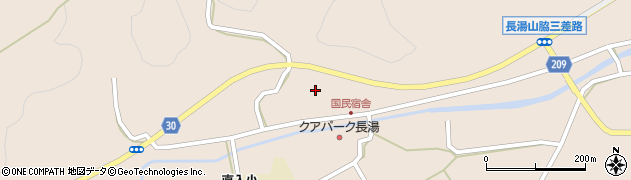 大分県竹田市直入町大字長湯3121周辺の地図