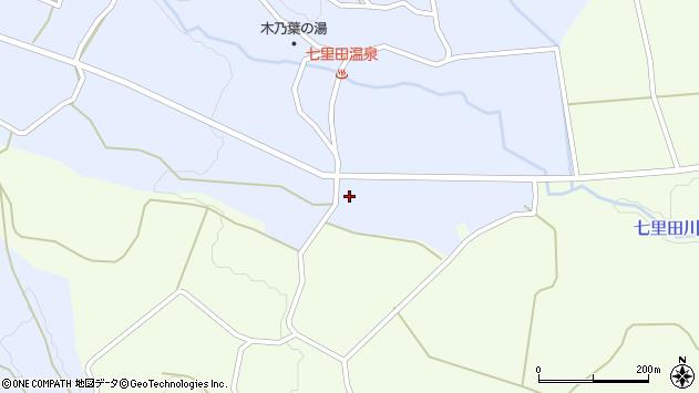 大分県竹田市久住町大字有氏3831周辺の地図