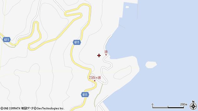 大分県津久見市四浦2470周辺の地図