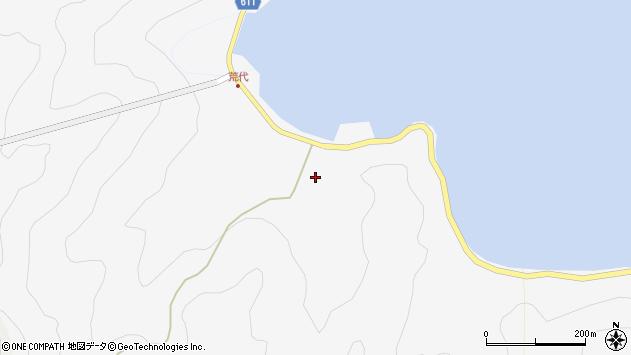 大分県津久見市四浦946周辺の地図