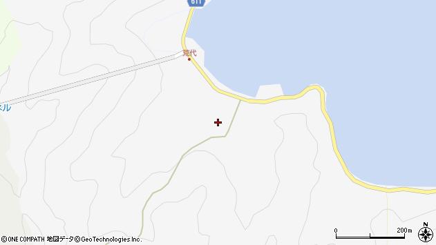 大分県津久見市四浦792周辺の地図