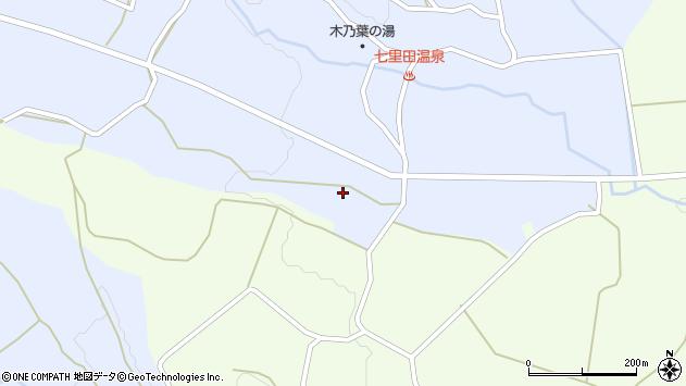 大分県竹田市久住町大字有氏3812周辺の地図