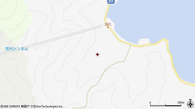 大分県津久見市四浦590周辺の地図
