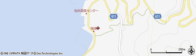 大分県津久見市四浦1511周辺の地図