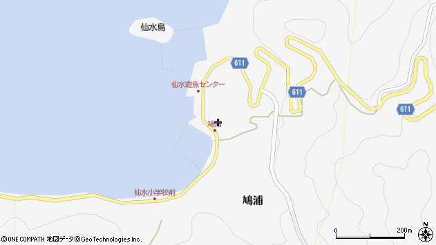 大分県津久見市四浦1577周辺の地図