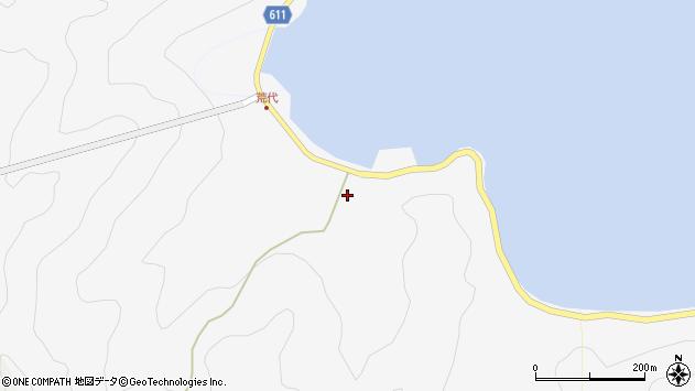 大分県津久見市四浦538周辺の地図