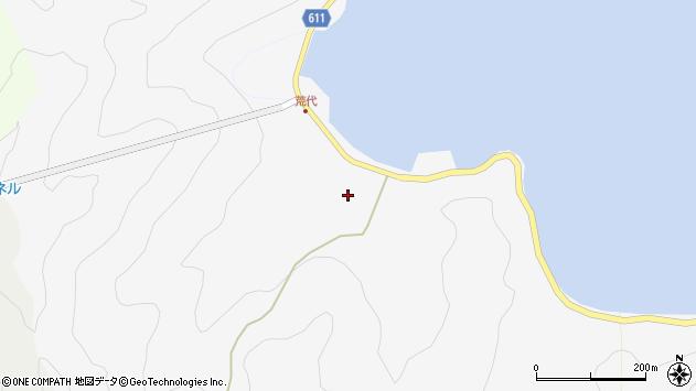 大分県津久見市四浦791周辺の地図
