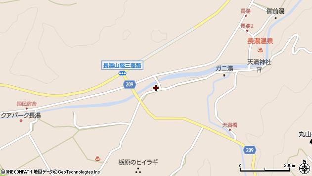 大分県竹田市直入町大字長湯2963周辺の地図