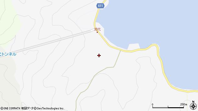 大分県津久見市四浦568周辺の地図