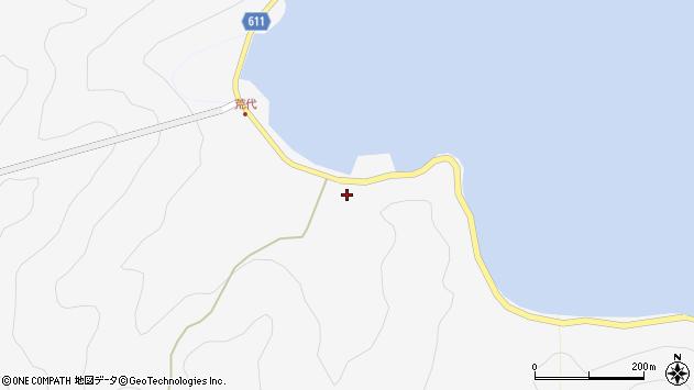大分県津久見市四浦951周辺の地図