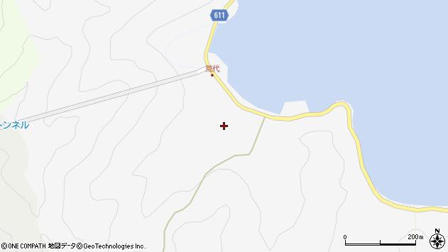 大分県津久見市四浦527周辺の地図