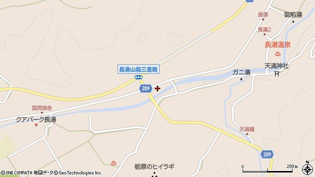 大分県竹田市直入町大字長湯7673周辺の地図