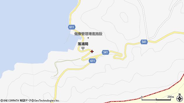 大分県津久見市四浦3744周辺の地図