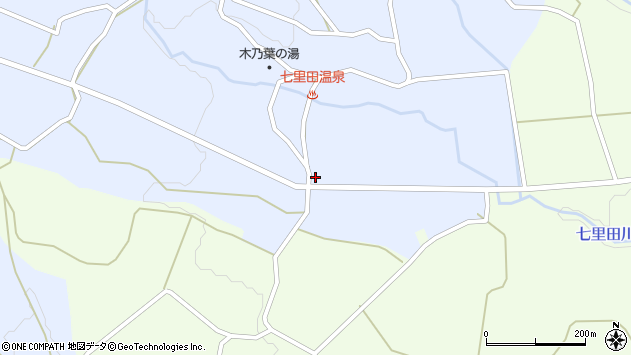 大分県竹田市久住町大字有氏3838周辺の地図