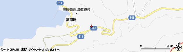 大分県津久見市四浦3811周辺の地図