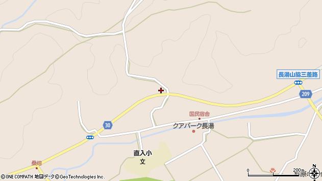 大分県竹田市直入町大字長湯3149周辺の地図