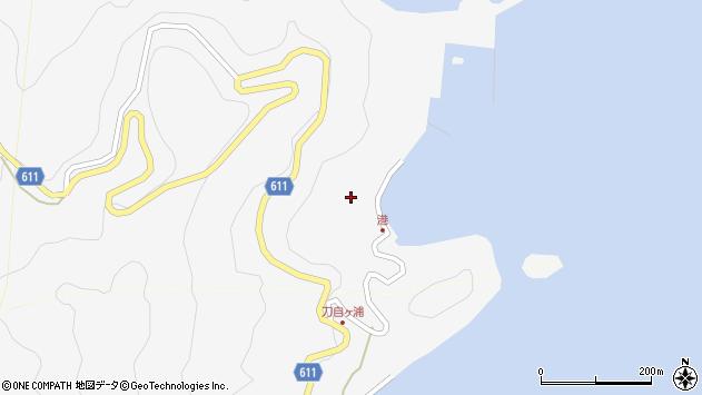 大分県津久見市四浦2436周辺の地図