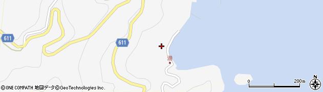 大分県津久見市四浦2428周辺の地図