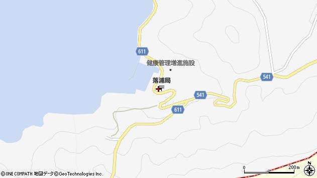 大分県津久見市四浦3716周辺の地図